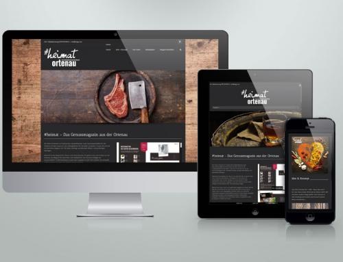 Website für #Heimat – das Genussmagazin