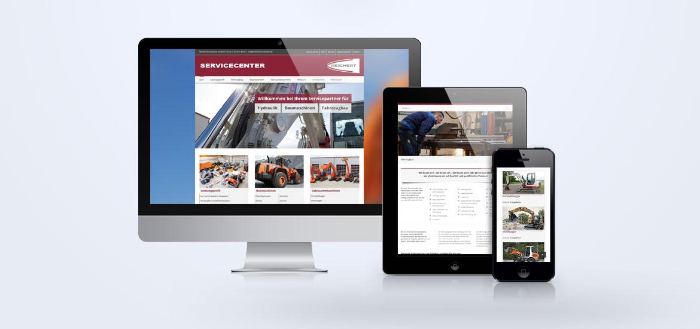 Website Reichert Servicecenter Baden-Baden