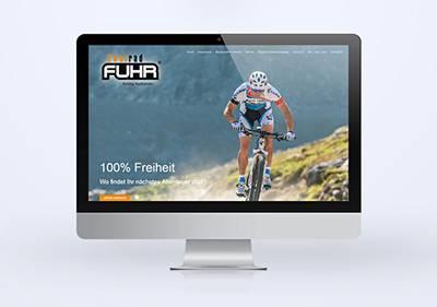 Neue Website für Zweirad Fuhr