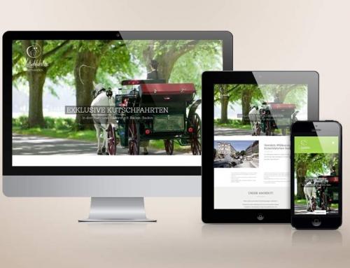 Neue Website für Kutschfahrten Baden-Baden