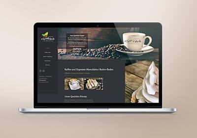 Screenshot Website Wannenmachers röstfrisch